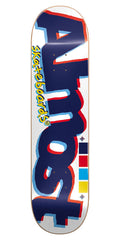 Almost Off Register Skateboard Deck - 8.5 - White