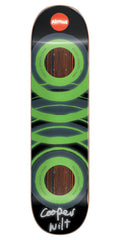 Almost Cooper Glow In The Dark Impact Skateboard Deck - Green - 8.25