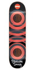 Almost Daewon Glow In The Dark Impact Skateboard Deck - Orange - 8.0