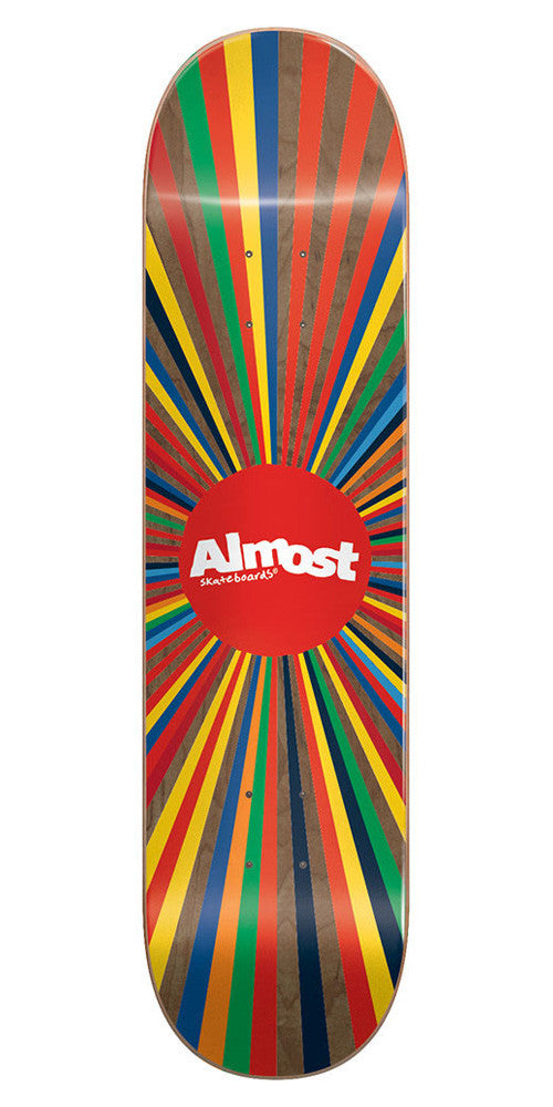 Almost Color Wheel Skateboard Deck - Brown - 8.0