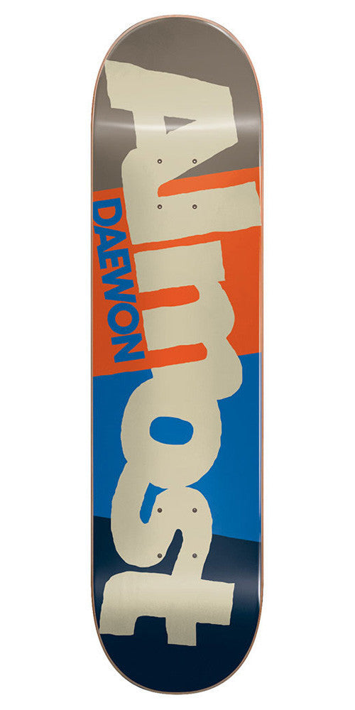 Almost Daewon Song C-Block R7 Skateboard Deck - Multi - 7.75