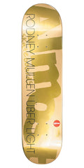 Almost Rodney Mullen Gold Ops Uber Skateboard Deck - Gold - 8.0