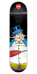 Almost Cooper Wilt Villain V2 Penguin R7 Skateboard Deck - Black - 8.0in