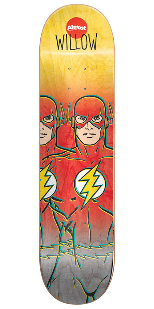 Almost Willow Flash Fade R7 Skateboard Deck - Multi - 8.375