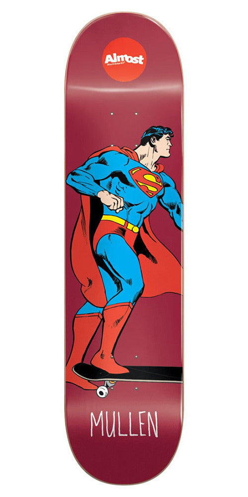 Almost Rodney Mullen Super Mongo R7 Skateboard Deck - Red - 8.0