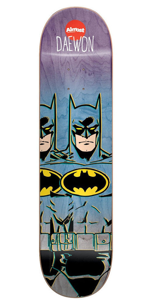 Almost Daewon Song Batman Fade Youth R7 Skateboard Deck - Multi - 7.0in
