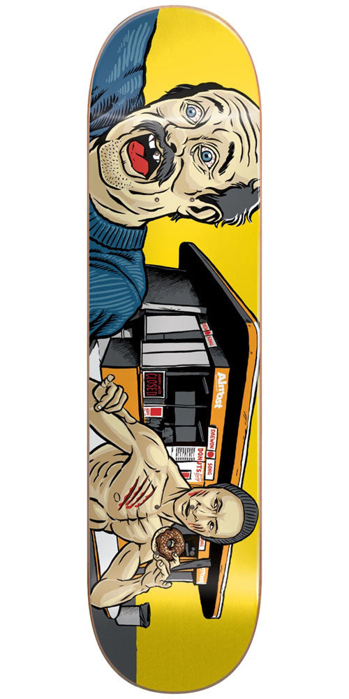 Almost Daewon Song Lee IL Skateboard Deck - Yellow - 8.25in