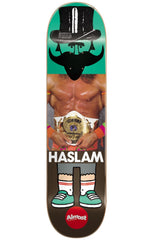 Almost Chris Haslam Remix Dude IL Skateboard Deck - Multi - 8.5in