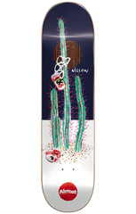 Almost Willow Junk On My Prick IP Skateboard Deck - Blue/White - 8.375in