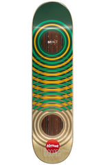 Almost Cooper Wilt OG Impact Rings Skateboard Deck - Green - 8.25in