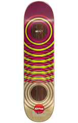 Almost Youness Amrani OG Impact Rings Skateboard Deck - Maroon - 8.0in