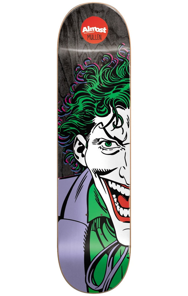 Almost Rodney Mullen Joker Split Face R7 Skateboard Deck - Black - 8.125in