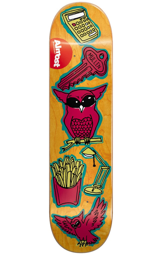Almost Rodney Mullen Dumb Doodle R7 Skateboard Deck - Yellow - 8.0in