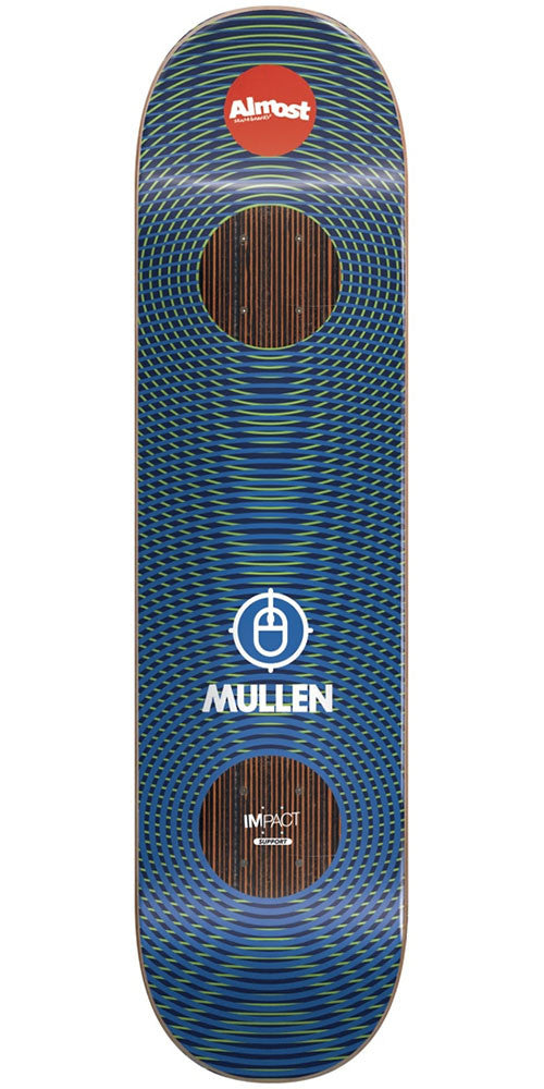 Almost Rodney Mullen Impact Vibes Skateboard Deck - Blue - 7.75in