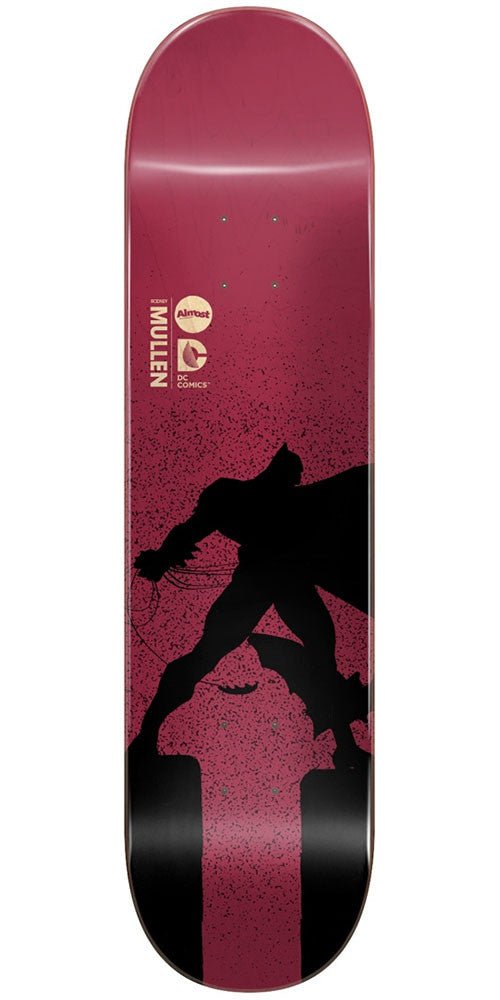 Almost Rodney Mullen Batman Dark Knight Returns Skateboard Deck - Magenta - 8.0in