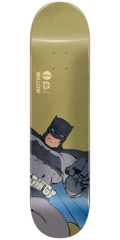 Almost Willow Batman Dark Knight Returns Skateboard Deck - Olive - 8.125in