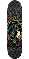 Mystery Asta Pistol Skateboard Deck 7.875 - Black/Grey