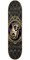 Mystery James Beer Can Skateboard Deck 8.125 - Black/Grey