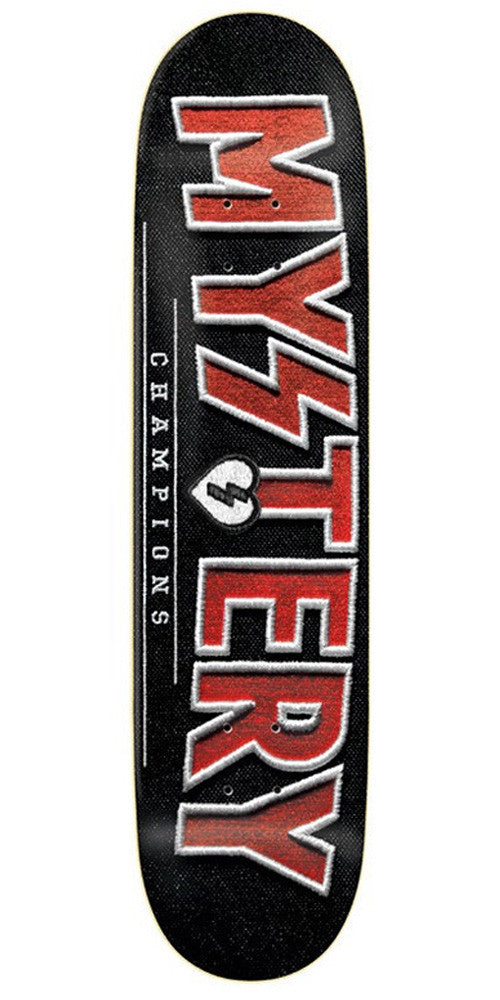 Mystery Champions Skateboard Deck - Red - 7.625in