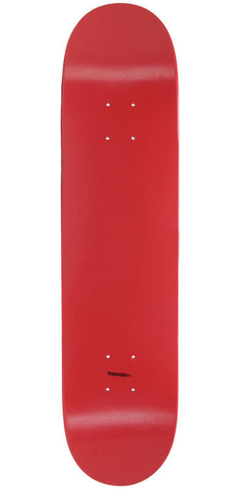 "Skate America Blank Skateboard Deck 7.5"" Red Dipped"