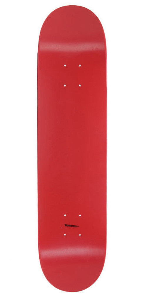 Skate America Skateboard Deck - Blank Red Dipped - 8.25