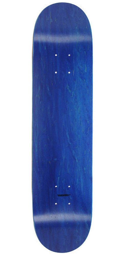 Skate America Skateboard Deck - Blue Stained Blank - 8.25