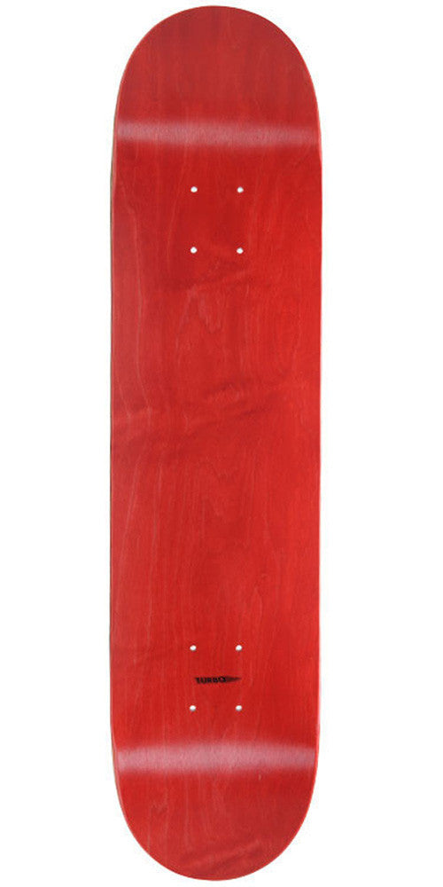 Skate America Skateboard Deck - Red Stained Blank - 7.625