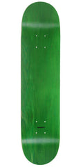 Skate America Skateboard Deck - Green Stained Blank - 8.5