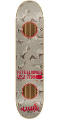 Cliche Camo Impact Eldridge Skateboard Deck - Grey Camo/Red - 7.9in