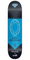 Cliche Brezinski Diamond Pro R7 Skateboard Deck - Blue - 7.75
