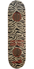 Cliche Camo Impact Brophy Skateboard Deck - Brown Camo - 8.25