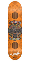 Cliche Andrew Brophy Mask Series Impact Skateboard Deck - Orange - 8.25in