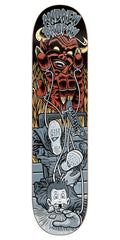 Cliche Andrew Brophy Master Of Puppets R7 Skateboard Deck - Multi - 8.5in