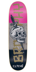 Cliche Andrew Brophy by Dressen R7 Skateboard Deck - Multi - 8.625in