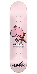 Cliche Daniel Espinoza Mr. Men R7 Skateboard Deck - Pink - 8.25in