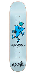 Cliche Sammy Winter Mr. Men R7 Skateboard Deck - Blue - 8.375in
