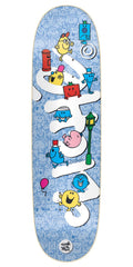 Cliche Mr. Men Team Directional R7 Skateboard Deck - Multi - 8.625in
