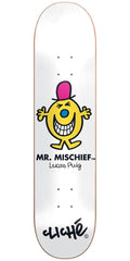 Cliche Lucas Puig Mr. Men R7 Skateboard Deck - White - 8.125in