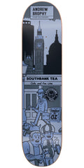 Cliche Andrew Brophy Street Series R7 Skateboard Deck - Blue - 8.375in