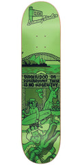 Cliche Sammy Winter Street Series R7 Skateboard Deck - Green - 8.0in
