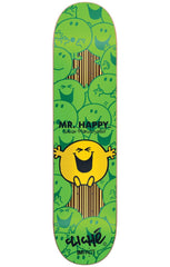 Cliche Mr. Men Impact Skateboard Deck - Green - 7.75in