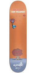 Cliche Lem Villemin Mr. Men IL Skateboard Deck - Orange - 7.75in