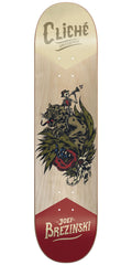 Cliche Joey Brezinski Swanski R7 Skateboard Deck - Natural - 7.75in