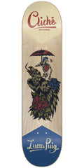 Cliche Lucas Puig Swanski R7 Skateboard Deck - Natural - 8.125in