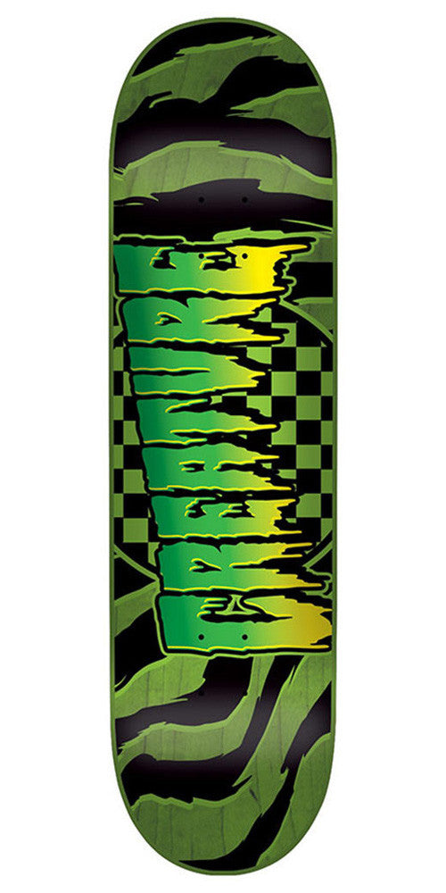 Creature Go Home SM Skateboard Deck - Green - 31.4in x 7.7in