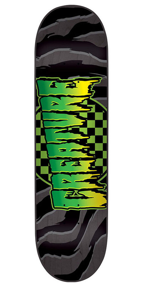 Creature Go Home LG Skateboard Deck - Black - 31.9in x 8.1in