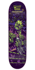Creature Creaturemania Hitz Skateboard Deck - Purple - 31.9in x 8.2in