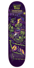 Creature Creaturemania Partanen Skateboard Deck - Purple - 32.2in x 8.3in