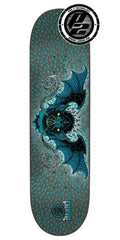Creature Bingaman Bat P2 Skateboard Deck - Blue - 32.0in x 8.375in