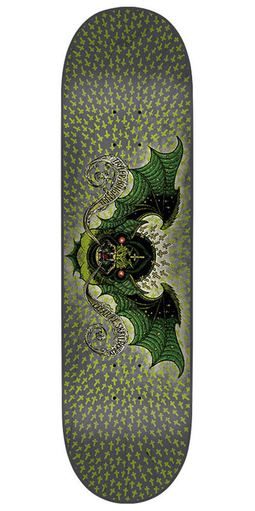 Creature Bingaman Bat Skateboard Deck - Green - 32.2in x 8.3in